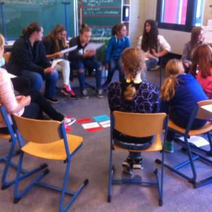 Workshop an der Johannes Gutenberg Realschule